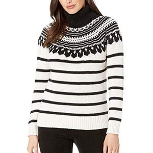 NWT Ralph Lauren Fair Isle Turtleneck Sweater